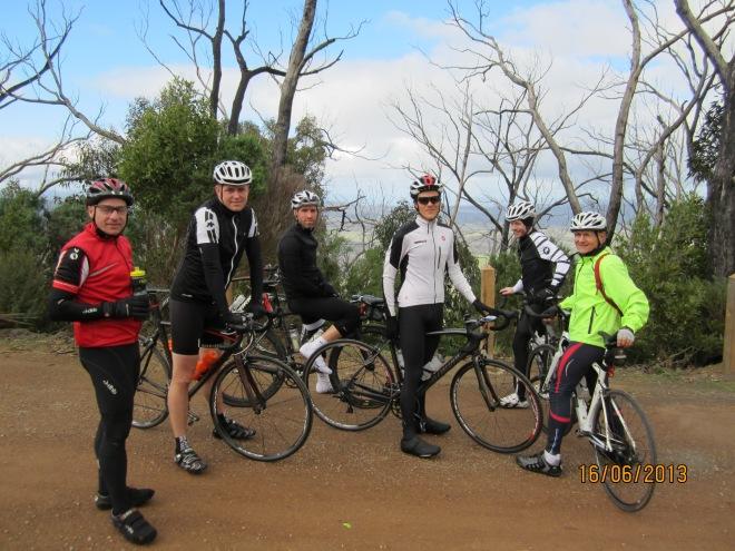Some of GreenWEDGE Cycling at Mt Sugarloaf