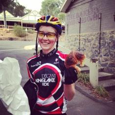 QOM of 2014 GreenWEDGE Cycling TT